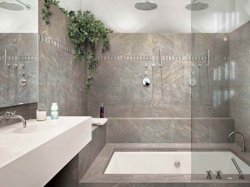 24 grey green bathroom tiles ideas and pictures