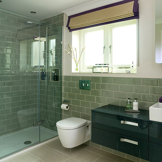 Amazing 24 Grey Green Bathroom Tiles Ideas And Pictures