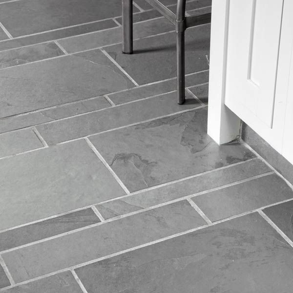 40 Grey Slate Bathroom Floor Tiles Ideas And Pictures 2020