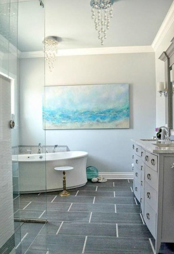 40 grey slate bathroom floor tiles ideas and pictures 2020