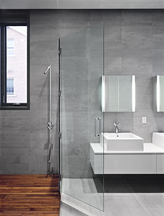 Simple Bathroom Grey Bathroom Tiles Grey Bathrooms Grey Wall Tiles Bathroom