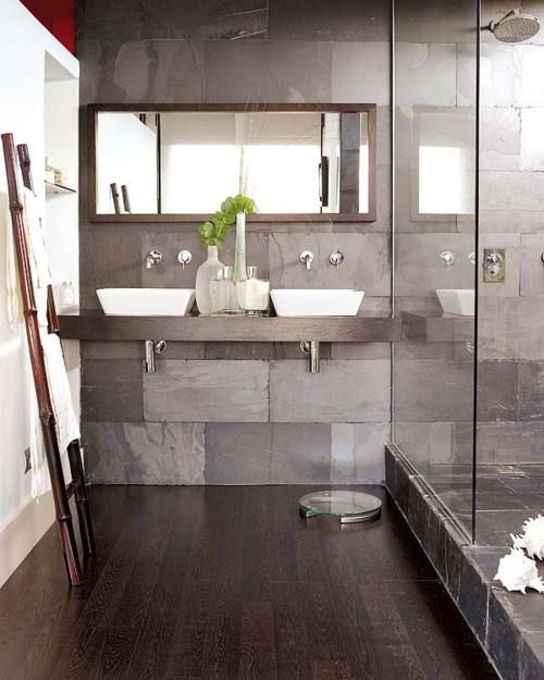 37 grey slate bathroom wall tiles ideas and pictures 2020