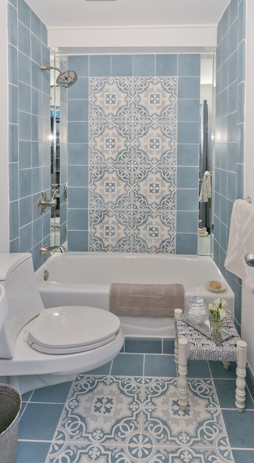 Lastest BathroomBath Tile Pattern Designs Photos For Large Bathroom Bath Tile