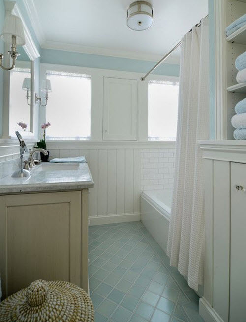 light blue bathroom tiles 37 light blue bathroom floor tiles ideas and pictures 19209