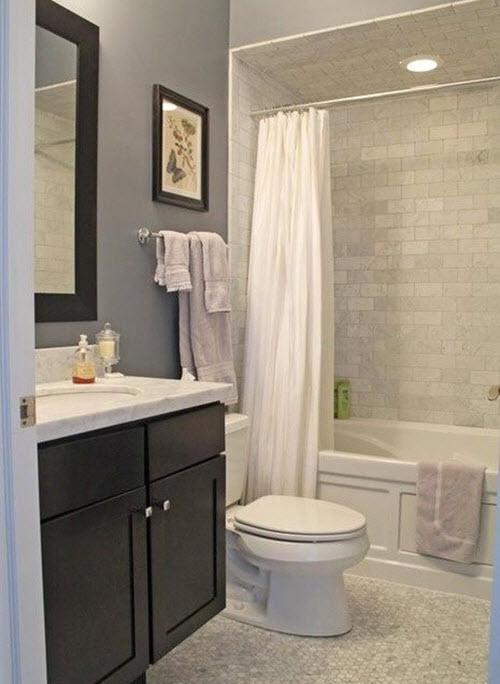 37 light gray bathroom floor tile ideas and pictures for Bathroom ideas grey tiles