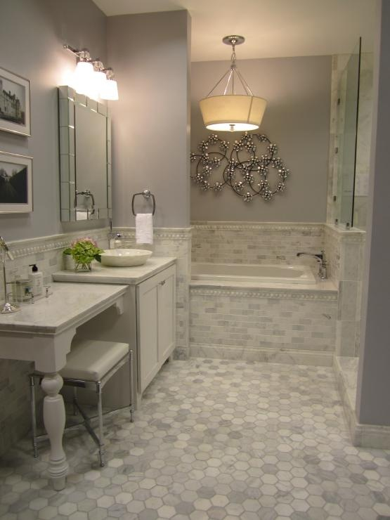 37 Light Gray Bathroom Floor Tile Ideas And Pictures 2019