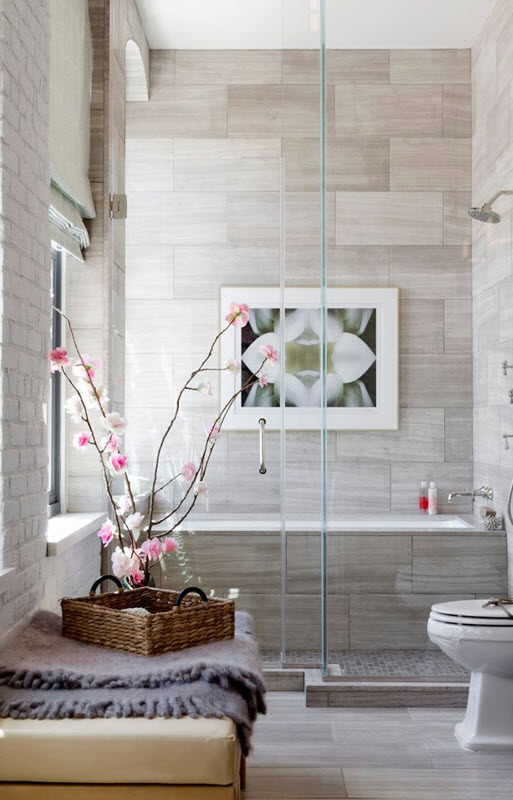 39 Light Gray Bathroom Tile Ideas And Pictures 2019