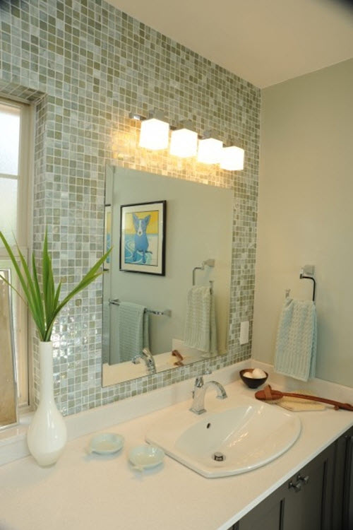light green bathroom 40 light green bathroom tile ideas and pictures 13457