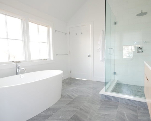 light grey tiles bathroom 37 light grey bathroom floor tiles ideas and pictures 19237