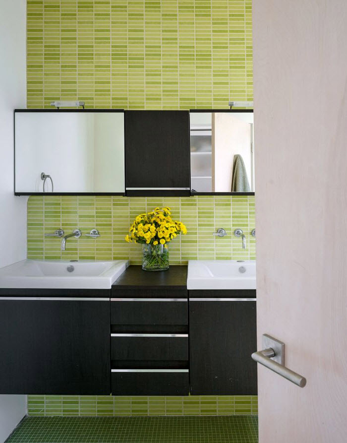 lime green bathroom tiles 40 lime green bathroom tiles ideas and pictures 19297