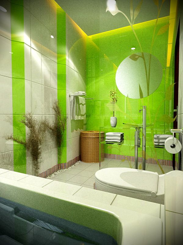 Attrayant Lime_green_bathroom_tiles_2. Lime_green_bathroom_tiles_3