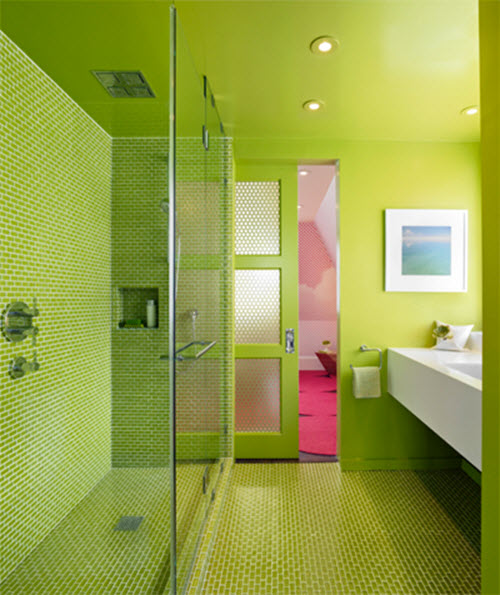 40 lime green bathroom tiles ideas and pictures 17 best ideas about lime green bathrooms on pinterest
