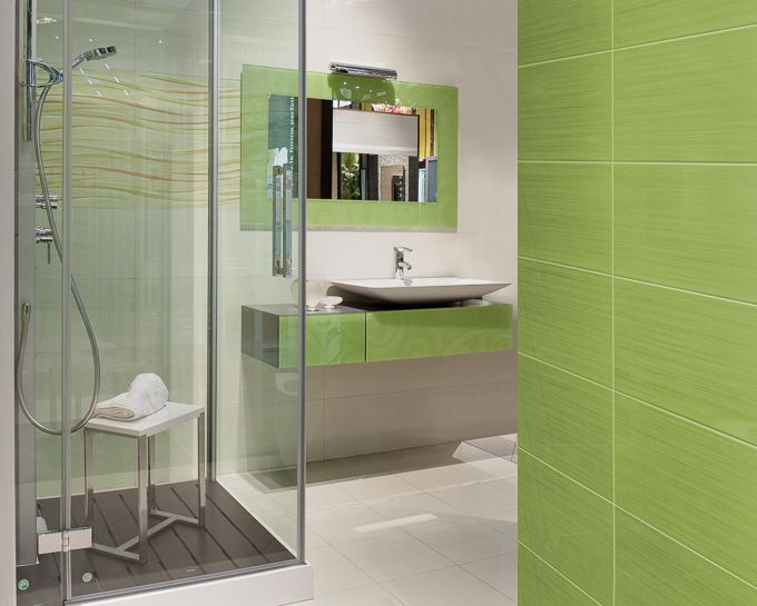 40 Lime Green Bathroom Tiles Ideas And Pictures 2019