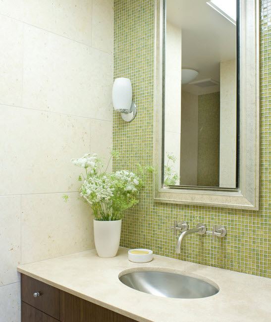 extraordinary lime green bathroom ideas | 35 lime green bathroom wall tiles ideas and pictures