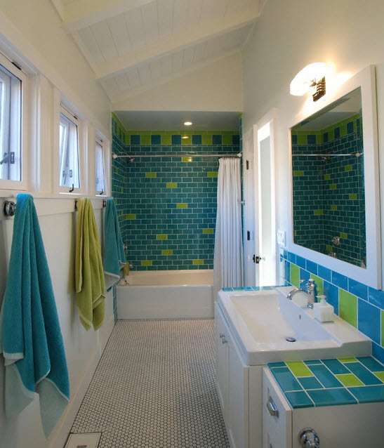 35 lime green bathroom wall tiles ideas and pictures stylish and refreshing lime bathrooms that will fascinate you