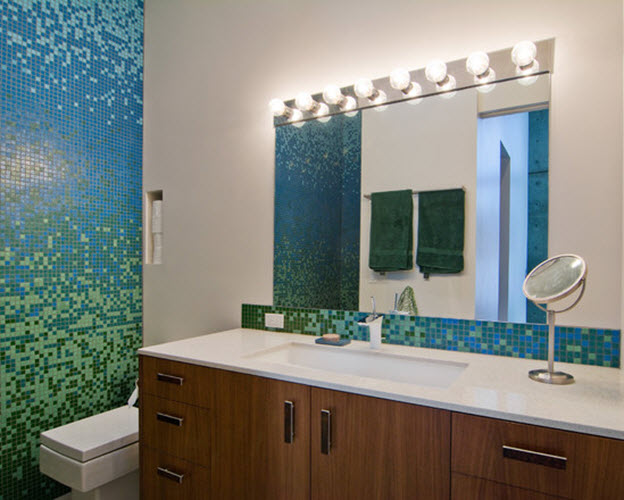 lime green bathroom tiles 35 lime green bathroom wall tiles ideas and pictures 19297