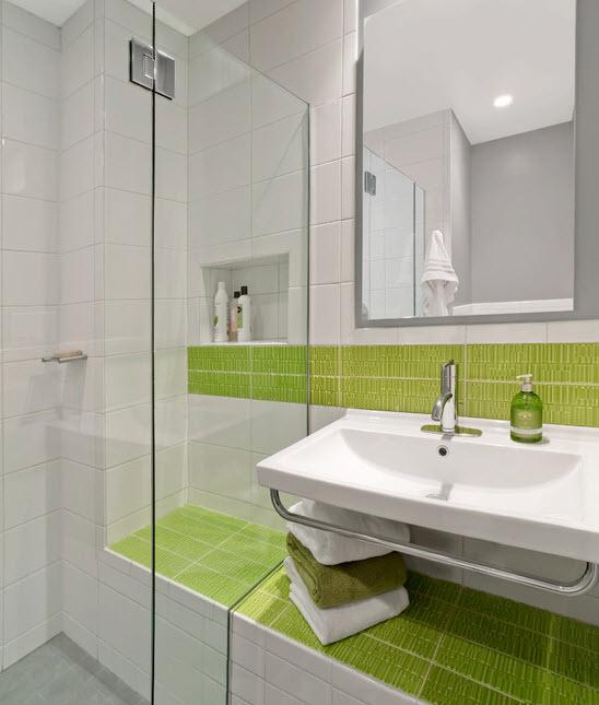 Lime Green Bathroom Wall Tiles 1 2 3