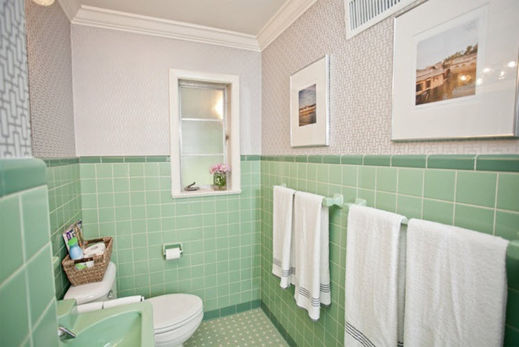 Mint Green Bathroom Tile Ideas And Pictures