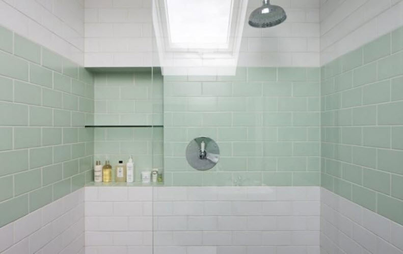 Well known 40 mint green bathroom tile ideas and pictures CR55