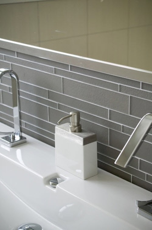 Modern Gray Bathroom Tiles Ideas And Pictures
