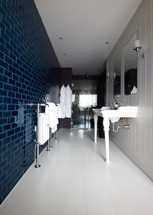 Blue Tiles Bathroom Ideas