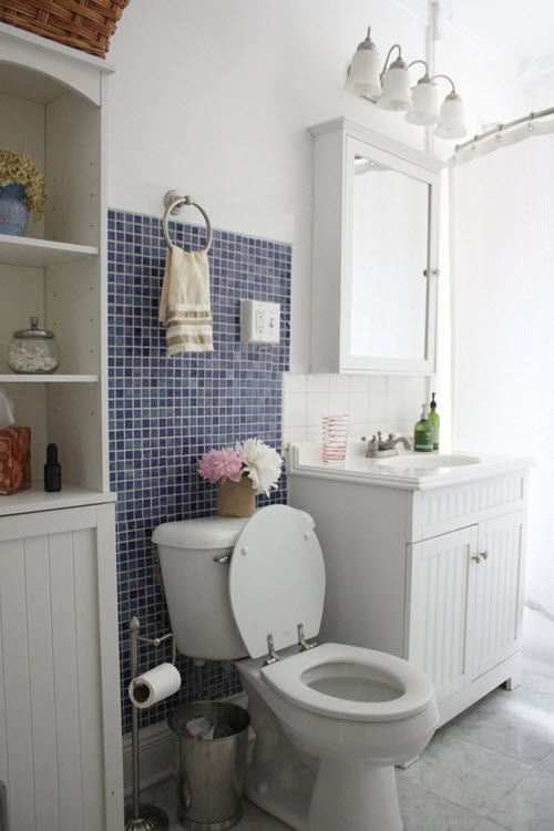 Lastest 40 Navy Blue Bathroom Tiles Ideas And Pictures