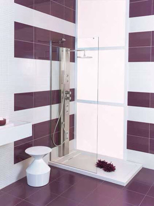 24 Purple Bathroom Floor Tiles Ideas And Pictures 2019