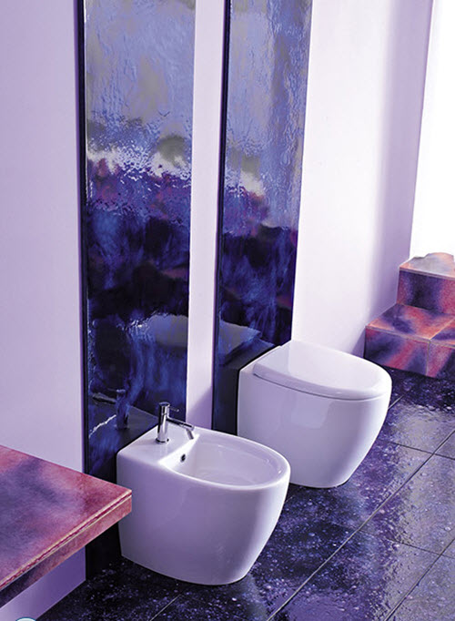 Perfect Purple Bathrooms And Purple Bathroom Ideas Amp Designs By Franco