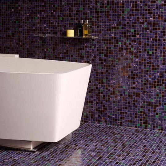 Purple Bathroom Wall Tiles