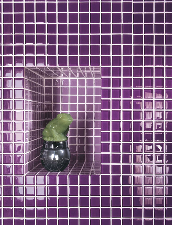 purple bathroom wall tiles 36 purple bathroom wall tiles ideas and pictures 20073
