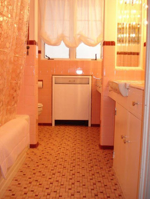 1950s pink bathroom the image kid has it for 1950 bathroom ideas