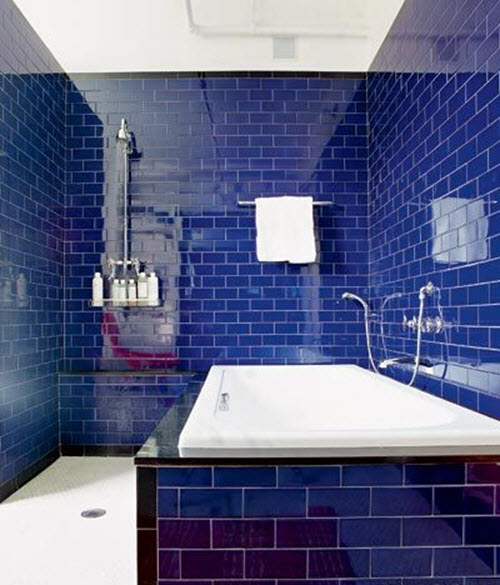 Blue Bathroom 36 royal blue bathroom tiles ideas and pictures