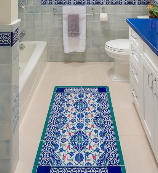 36 royal blue bathroom tiles ideas and pictures 2020