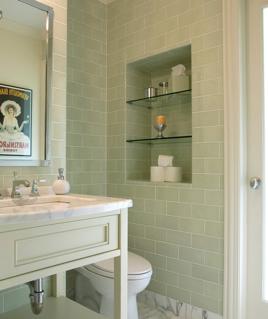 Sage Green Bathroom 32 Sage Green Bathroom Tiles Ideas And