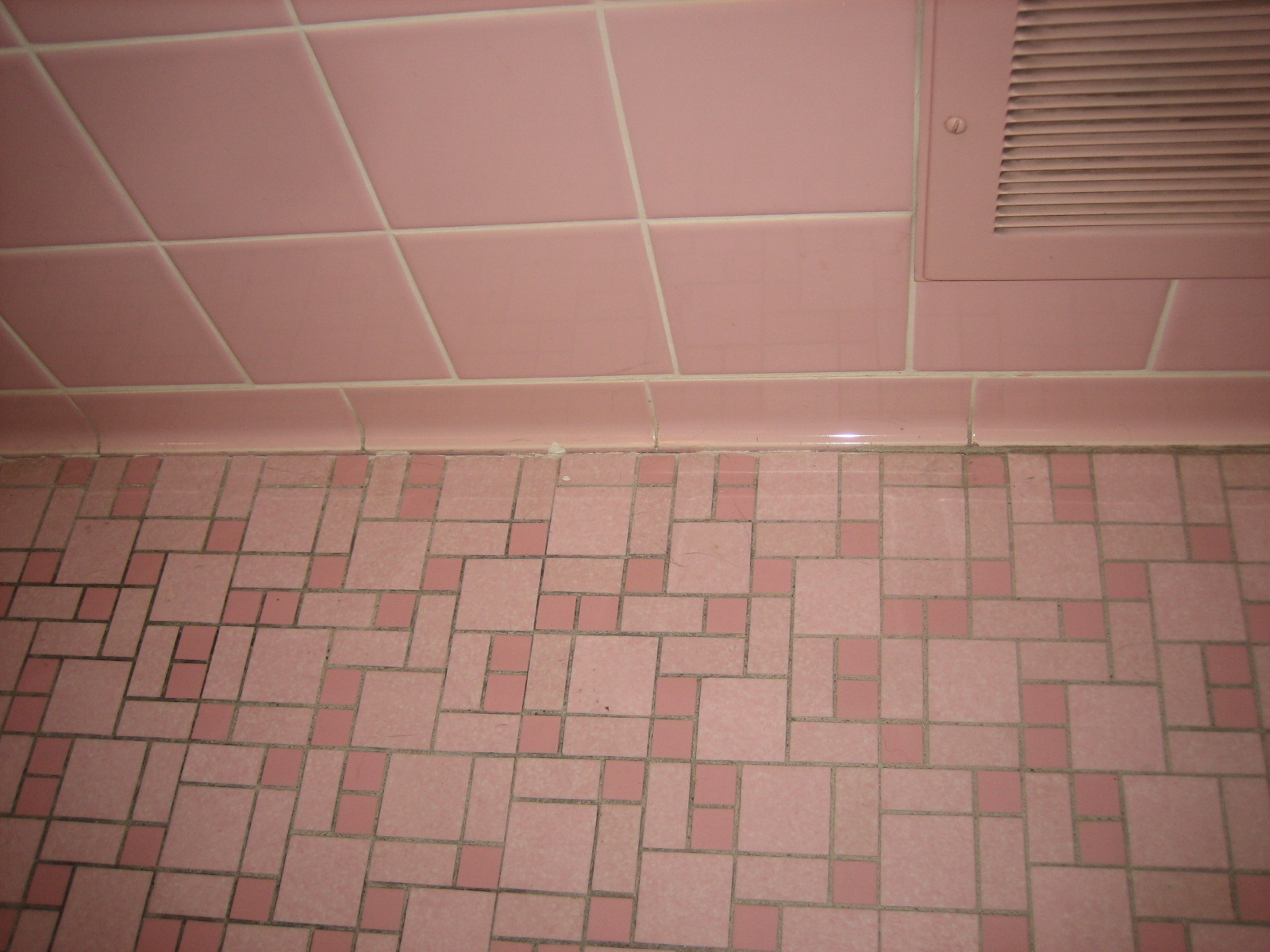 Excellent Above Pale Pink Tiles Contrast With Terracotta Floor Tiles Via The