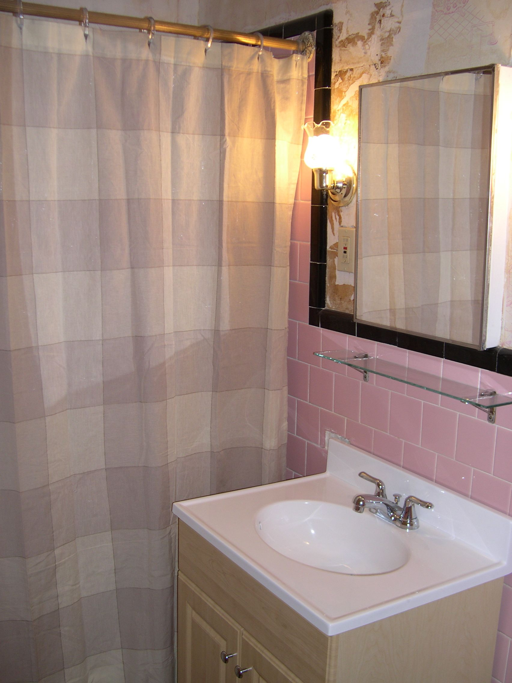 40 vintage pink bathroom tile ideas and pictures 2020
