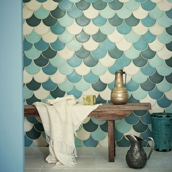 Awesome 39 Blue Green Bathroom Tile Ideas And Pictures