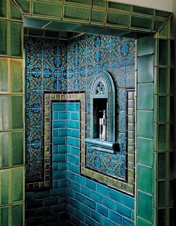 39 blue green bathroom tile ideas and pictures. Black Bedroom Furniture Sets. Home Design Ideas