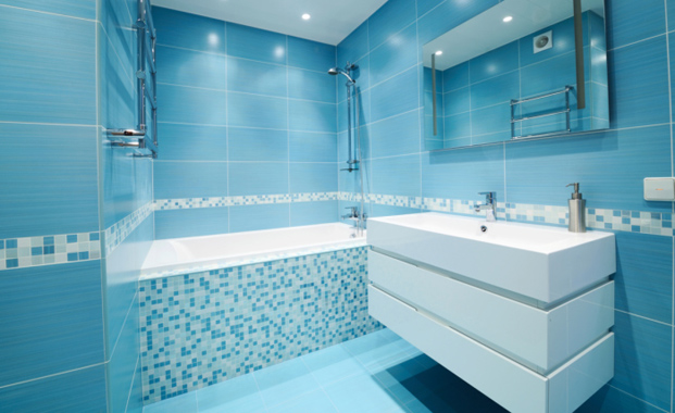 37 sky blue bathroom tiles ideas and pictures – Blue Bathroom Tiles