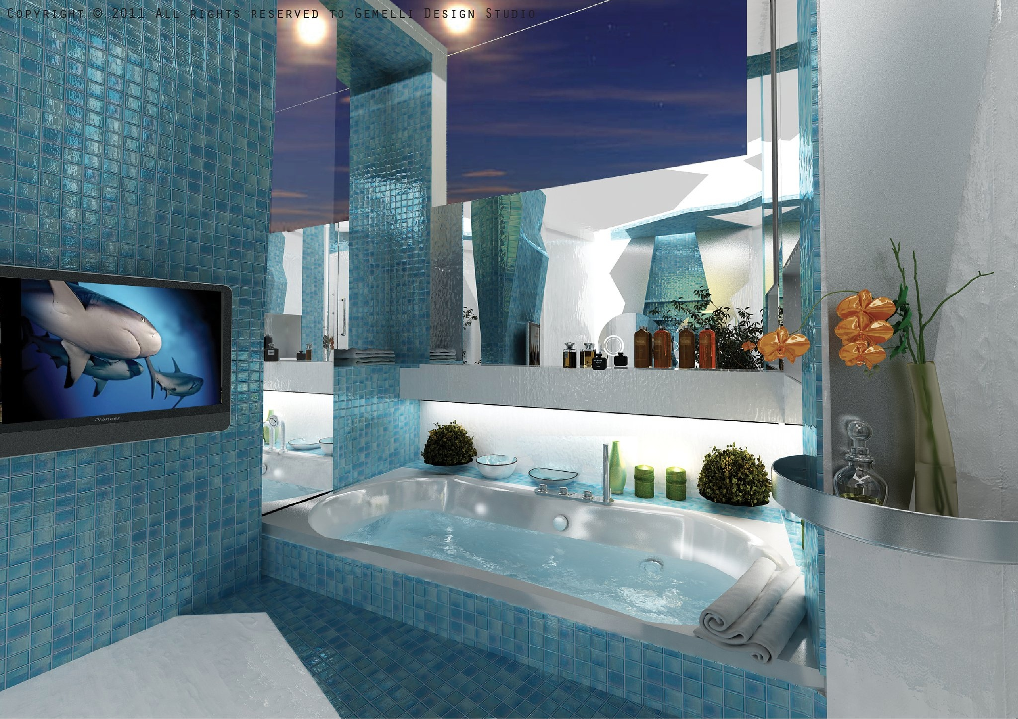 blue-mosaic-bathroom-tiles