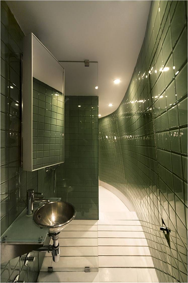 minimalist-bathroom-interior-in-green-tile-ceramics