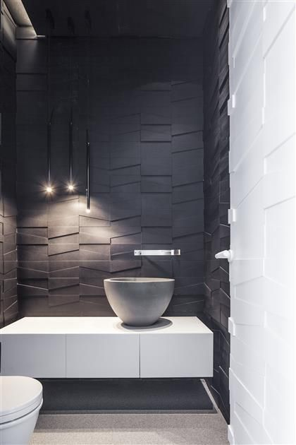30 dark grey bathroom tiles ideas and pictures. Black Bedroom Furniture Sets. Home Design Ideas