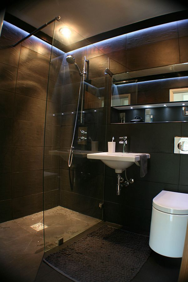30 Pictures Of Dark Tile In Small Bathroom For The Amazing