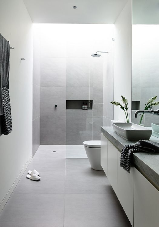 31 Modern Grey Bathroom Tiles Ideas And Pictures 2019