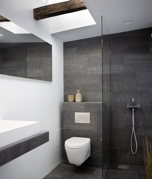 dark tiles in bathroom 30 grey bathroom tiles ideas and pictures 18055