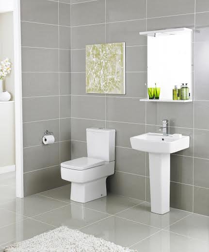 Light Grey Tiles For Bathroom