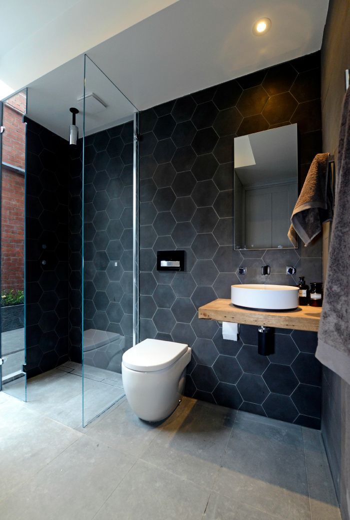 Bathroom Ideas Melbourne 30 dark grey bathroom tiles ideas and pictures