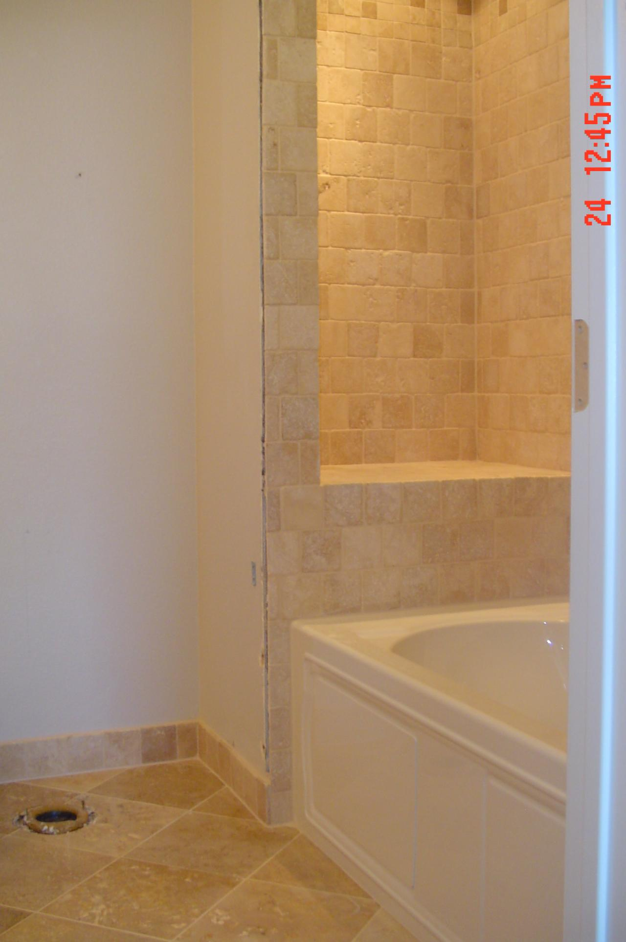 20 magnificent ideas and pictures of travertine bathroom for Travertine tile bathroom gallery