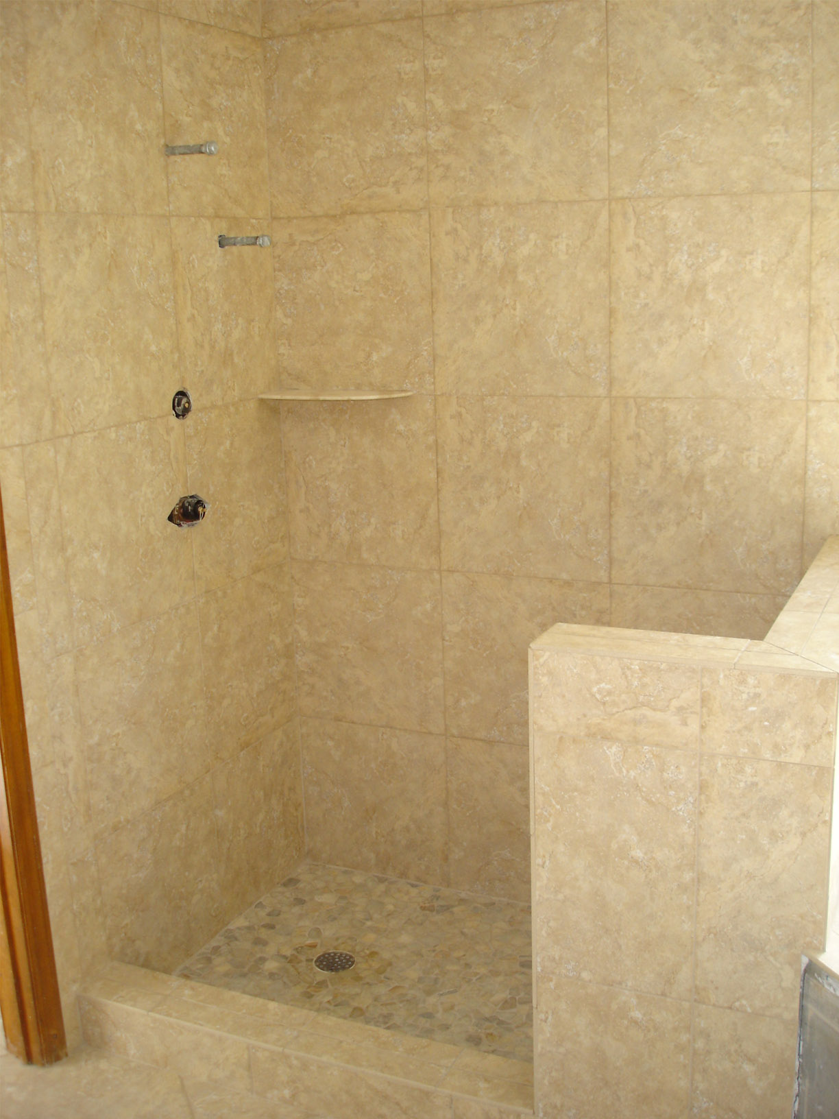 Shower Floor Tiles Which Why And How: 26 Amazing Pictures Of Ceramic Or Porcelain Tile For Shower