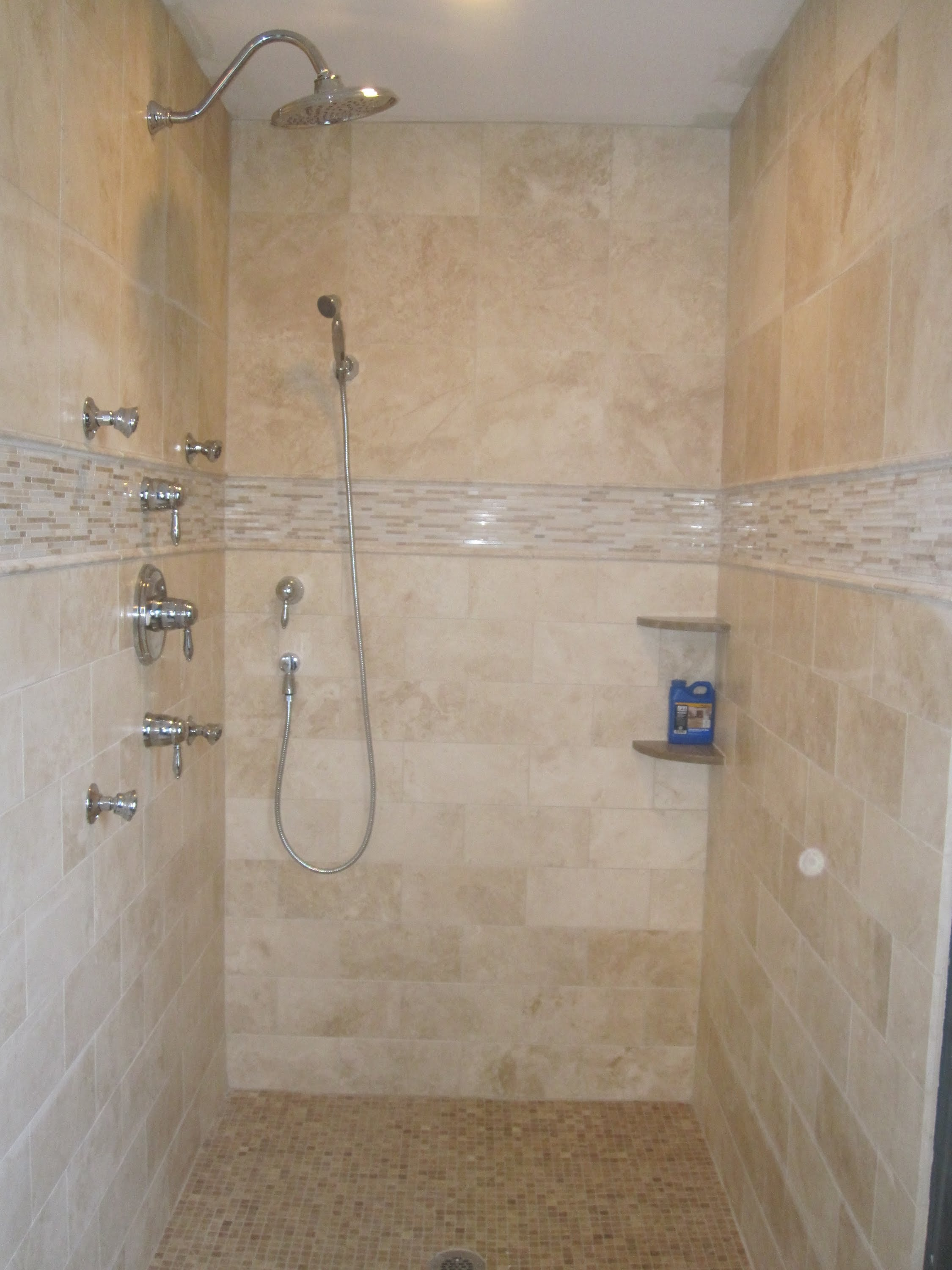 Walk In Shower Ideas For Small Bathrooms 20 Magnificent Ideas And Pictures Of Travertine Bathroom